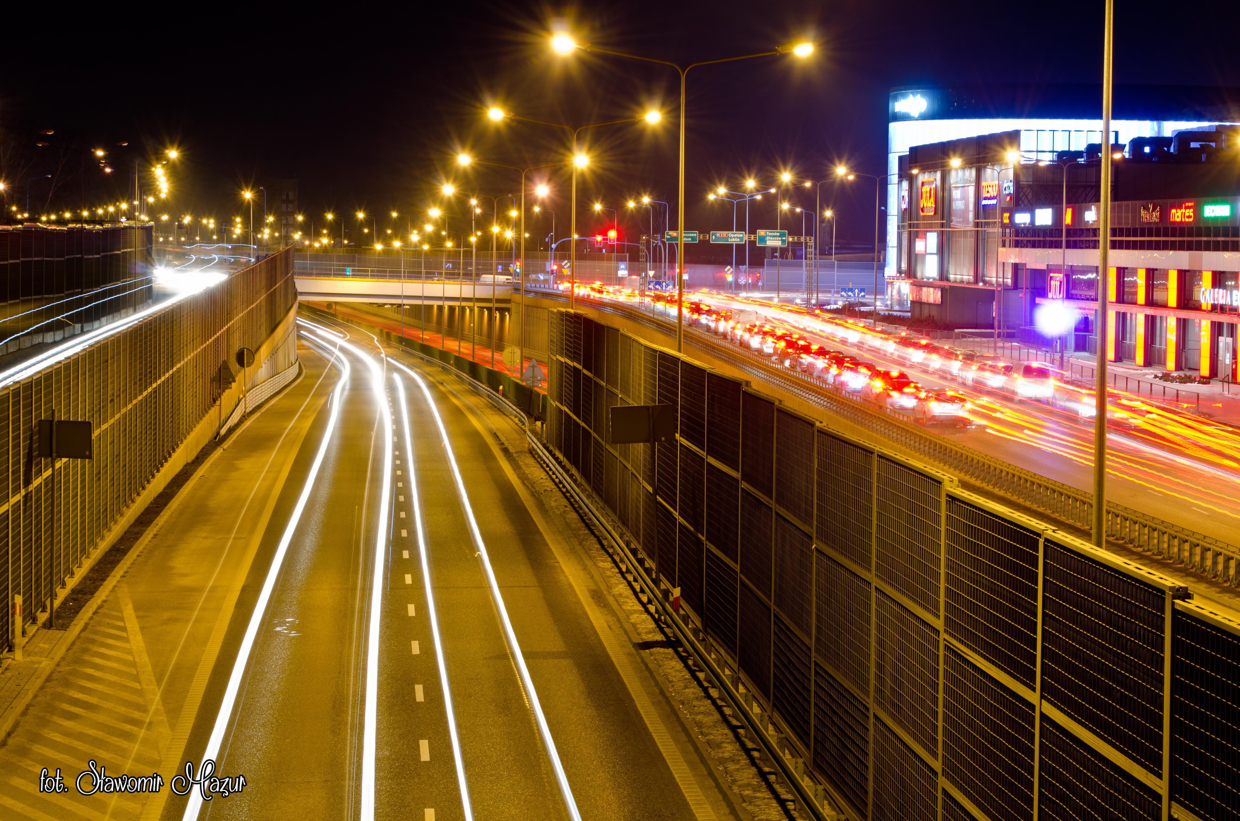 Kielce nocą/Kielce by night