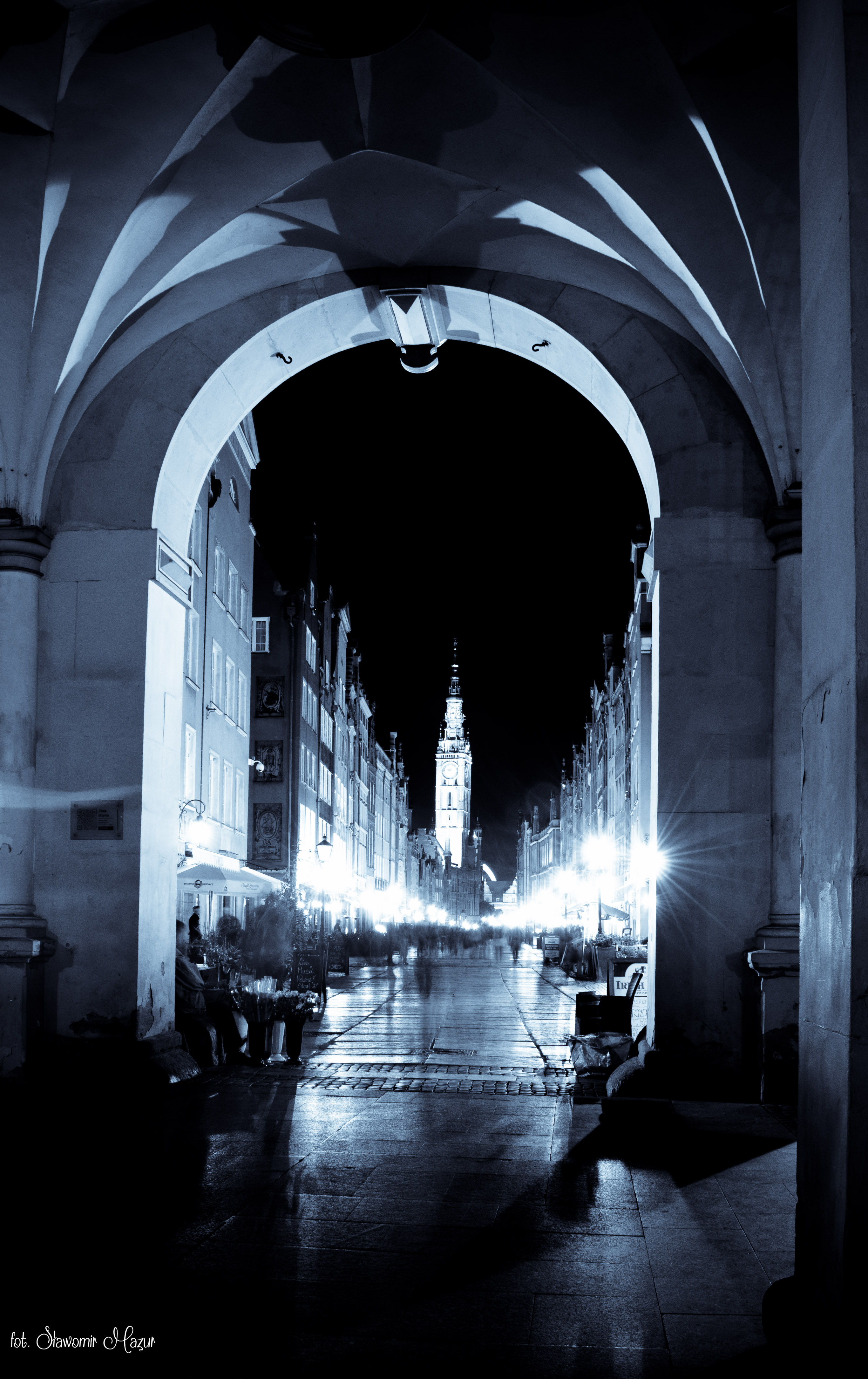 Gdańsk by night2