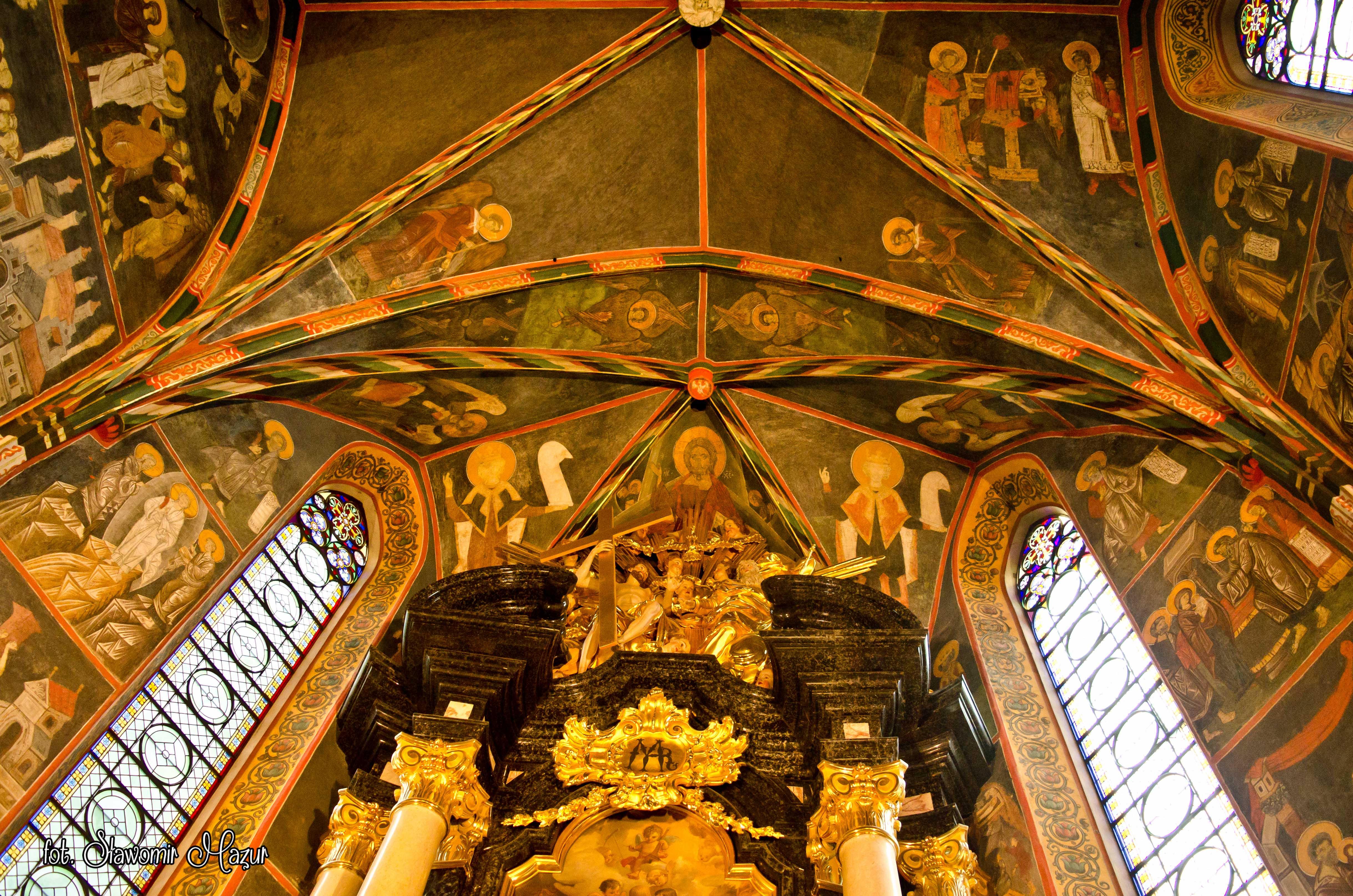 Wnętrze katedry w Sandomierzu