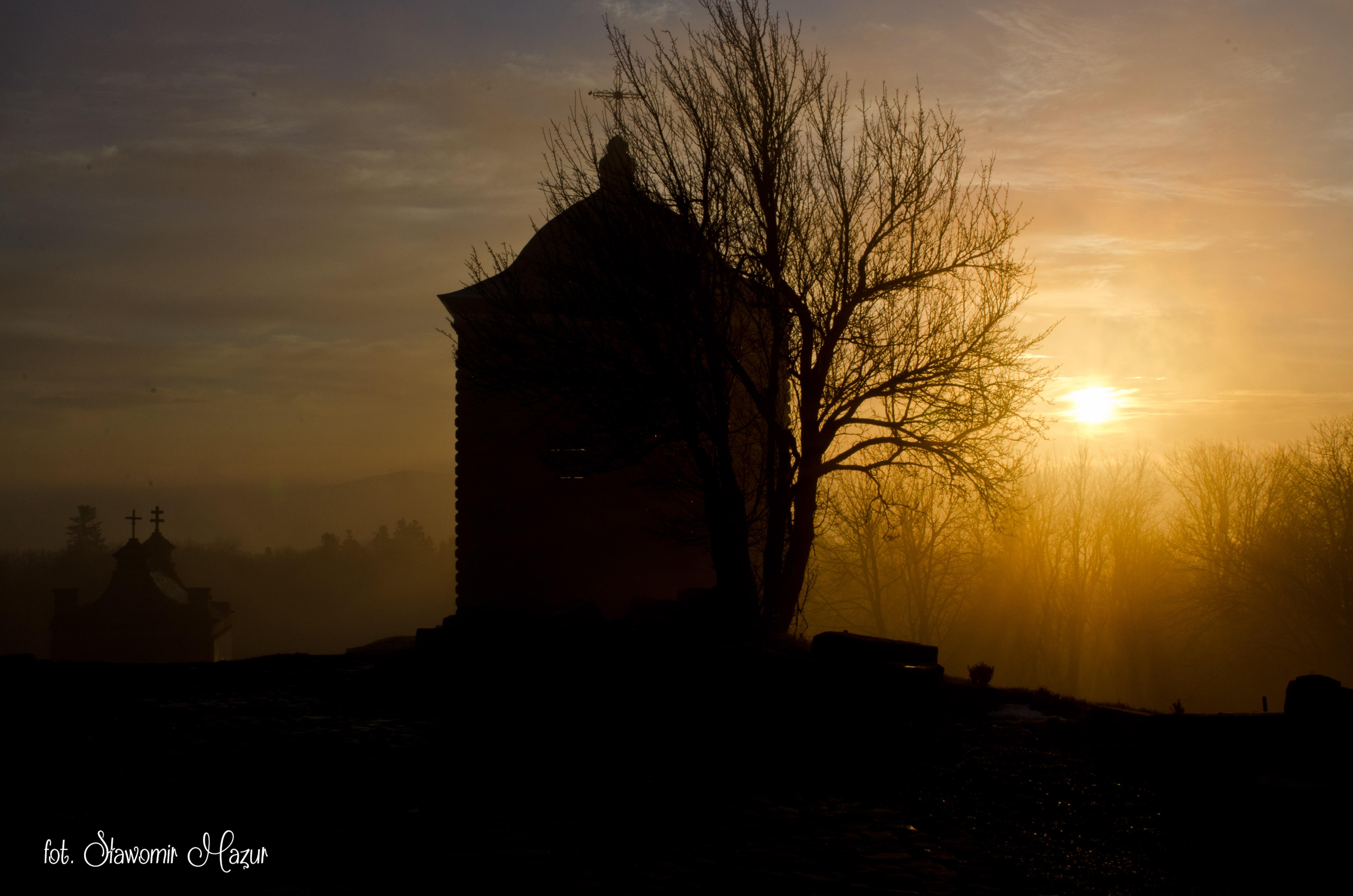Wschód słońca na Świętym Krzyżu