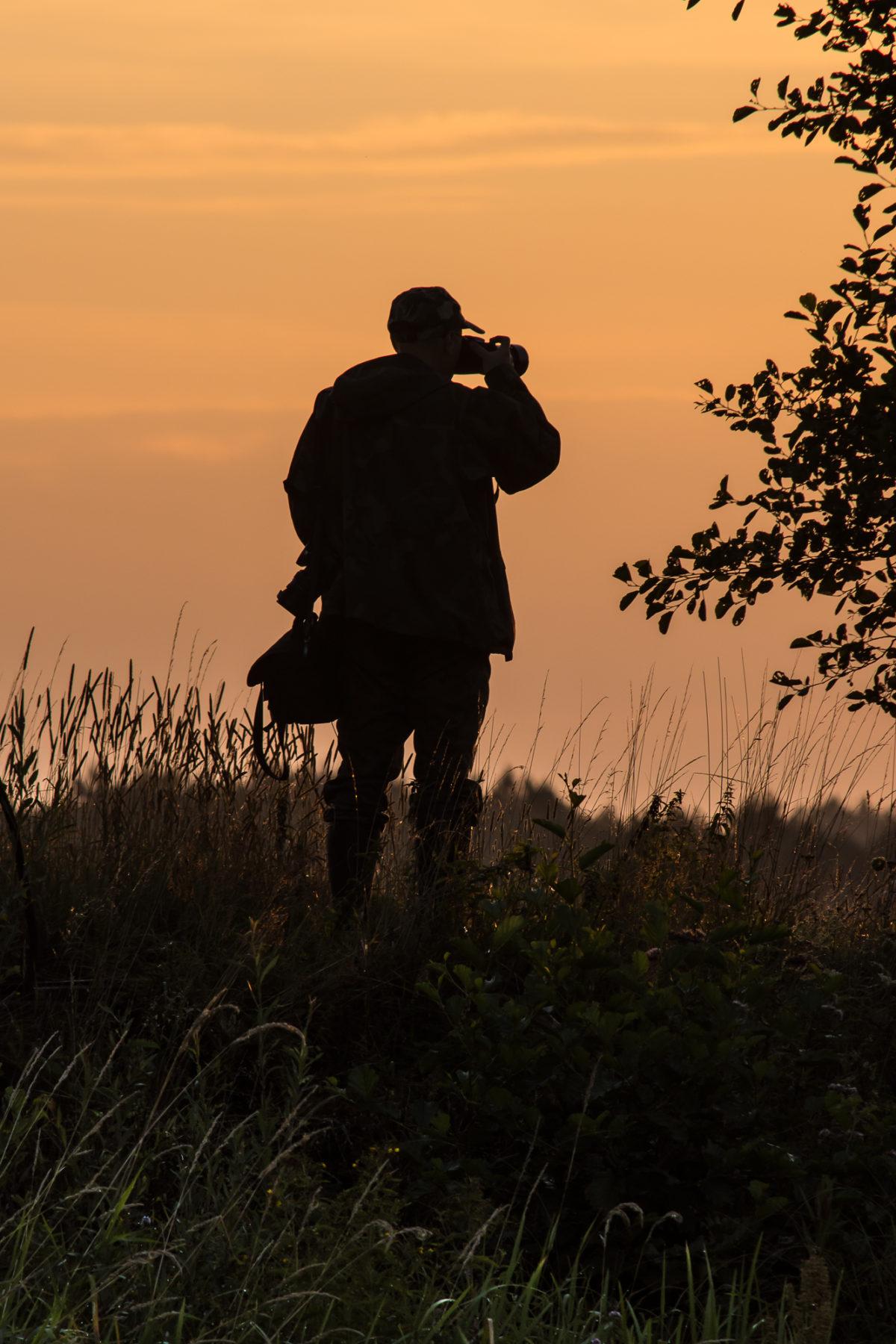 W oczekiwaniu na wschód słońca