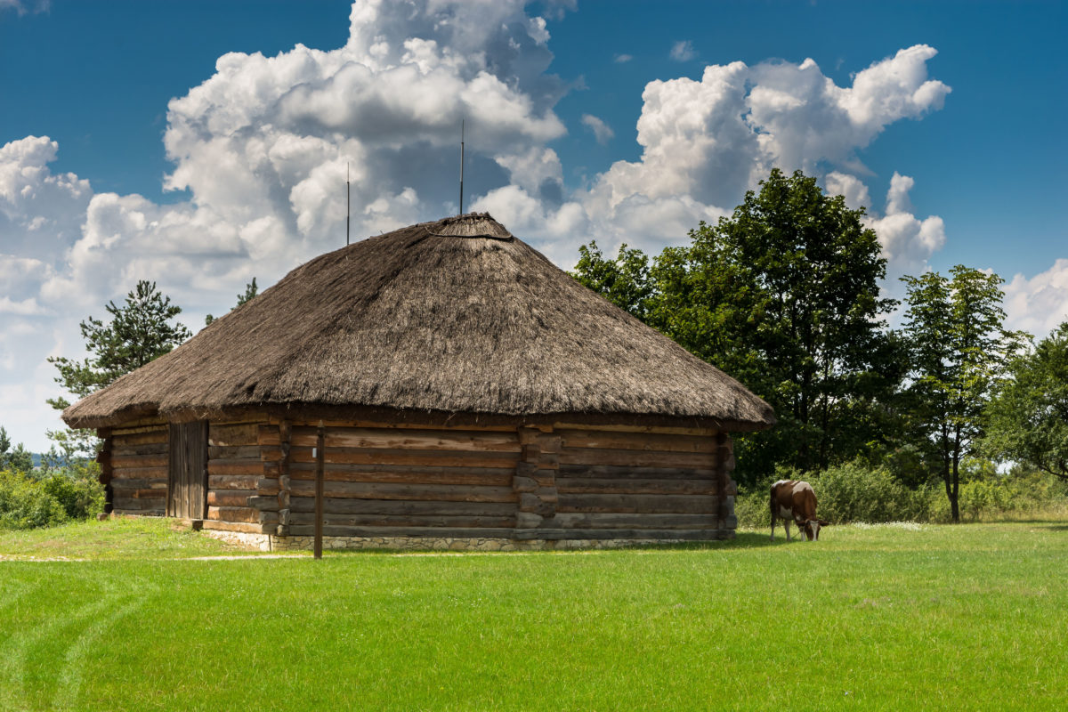 Wiejska chata